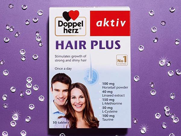 Hair Plus bổ sung dưỡng chất cho mái tóc