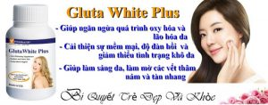 Công dụng của Gluta White Plus