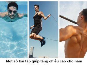 Các môn thể thao giúp tăng chiều cao